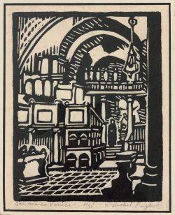 San Marco, Venice by Mabel Pugh (1891-1986)