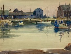 Rockport Inlet by Harry DeMaine (1880-1952)