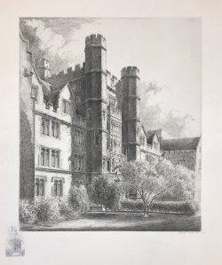 School of Medicine Facade by Louis Orr
