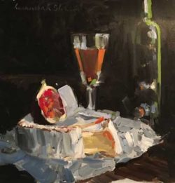 Wine and Figs by Laura Lacambra Shubert