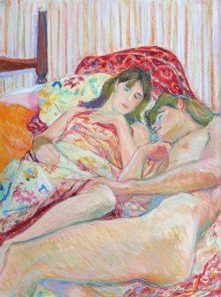Siesta by Elsie Dinsmore Popkin (1937-2005)