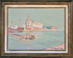 San Pietro in Castello by Wladimir de (Wlodzimierz)  Terlikowski
