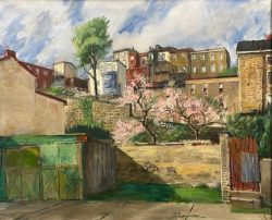 Hillside in Spring by Francis Speight