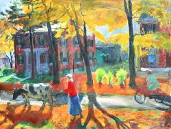 Applebachsville Autumn by Speight, Francis (1896-1989)