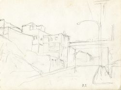 Shurs Lane Sketch by Speight, Francis (1896-1989)