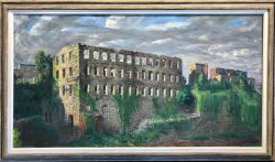 Burnt Out Old Stone Mill by Francis Speight (1896-1989)