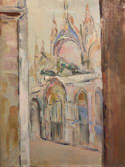 Place Saint-Marc, Venise by Wladimir de Terlikowski