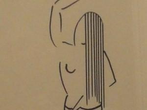 Standing Deco Female by James Augustus McLean