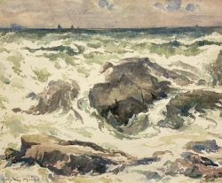 Storm's Aftermath by Harry DeMaine (1880-1952)
