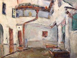 Studio de Cevantes: Vallalolid, Espagne by Wladimir de Terlikowski