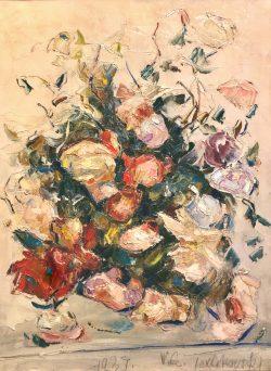 Fleurs d'été by Wladimir de (Wlodzimierz)  Terlikowski