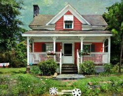 The Hub Cap House by Watson  Brown