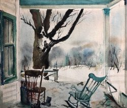 The Porch by Phillip Moose (1921-2001)