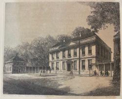 Tryon's Palace, New Bern, First State Capitol of NC by Louis Orr