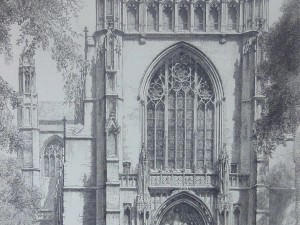 University Chapel by Louis Orr