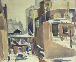 View From Artist's Studio by Harry DeMaine