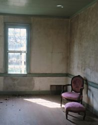 View Through a Parlor Window by Watson  Brown