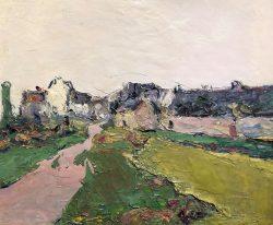 Village en Bretagne by Wladimir de Terlikowski