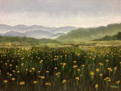 Wild Azaleas  by David Addison