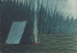 Winter Camp III by Michael Francis Reagan