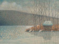Winter Camp V by Michael Francis Reagan