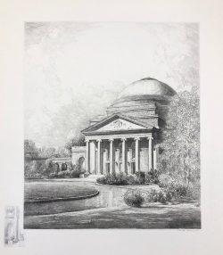 Woman's College Auditorium (Baldwin) by Louis Orr
