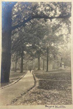 UNC - Chapel Hill, Triptych: Silent Sam Memorial by Bayard Wootten
