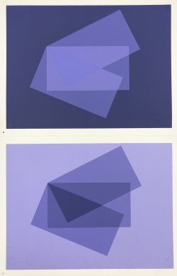 X-1 by Josef Albers (1888-1976)