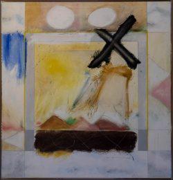 X in Space by Horace Farlowe (1933-2006)