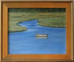 Yellow Boat by David Addison