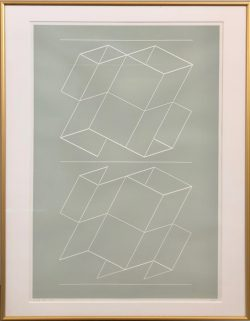 WEG VII by Josef Albers  (1888-1976)