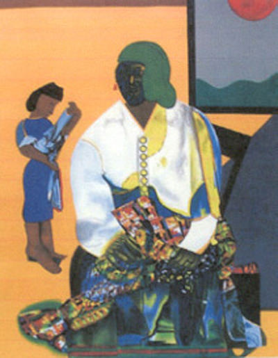 Mecklenberg Autumn by Romare Bearden