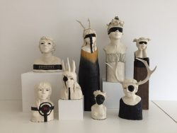 Freestanding Sculptures (sold separately)  by Elissa Farrow Savos