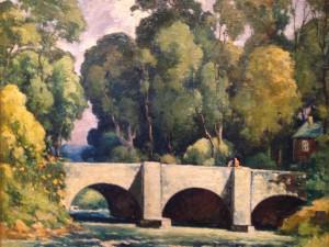 Bridge at Clinton, NY by Harry DeMaine