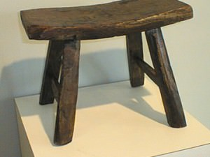 Antique Mini Four-legged stool