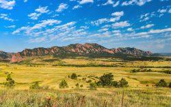 Colorado Flatirons by Sandra Mae Jensen