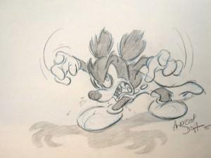 Mickey Gone Mad by Walt Disney Studios