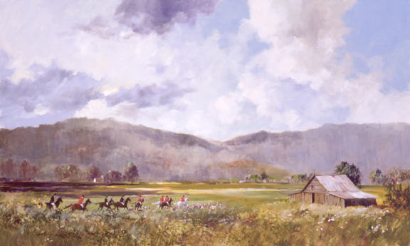 Hunt in the Valley by Ray G. Ellis