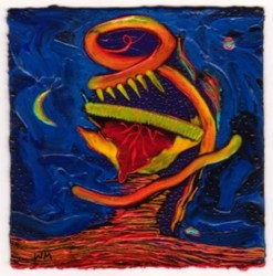 Voodoo Mask #2 by Willie Marlowe