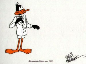 Daffy Duck by Warner Brothers Studios
