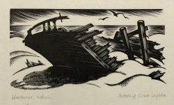 Hatteras Wreck by Clare Leighton (1898-1989)