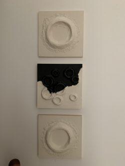 Wall Triptych 2  by Elissa Farrow Savos